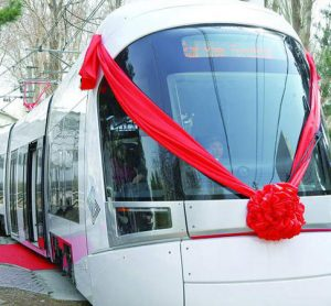 CRRC's explosion-proof trains have been introduced in Israel
