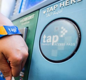 Wearing your fare: LA Metro's TAP Smart Card Program