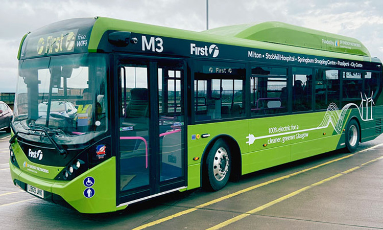 First Glasgow rolls out first commercial e-buses in Glasgow since 1960s