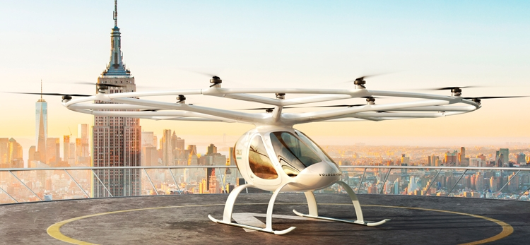 Volocopter to test and demonstrate eVTOL air taxis in Singapore