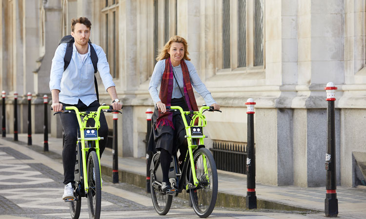 Square Mile now has electric bike sharing in bid to reduce car dependency