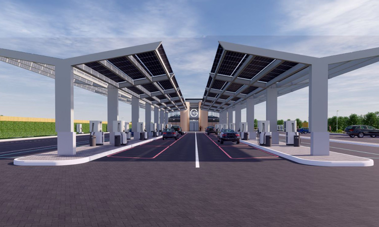 'UK's first electric petrol station' under construction in Essex