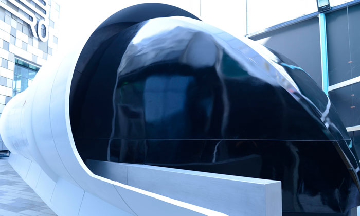 First prototype of UAE's hyperloop design unveiled