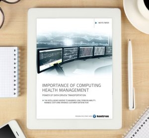 Whitepaper: importance of computing health management