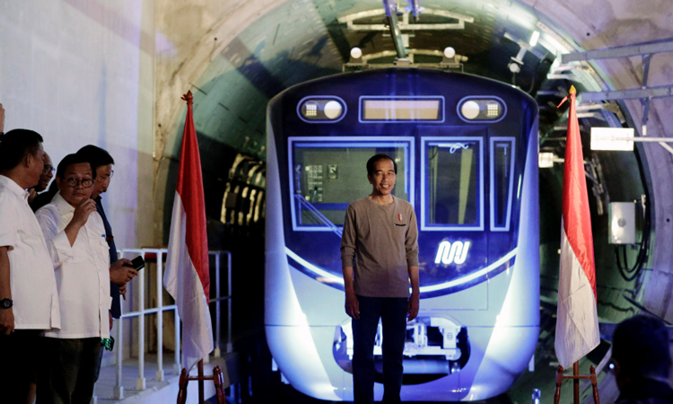Indonesia's first ever subway opens to improve congestion in Jakarta