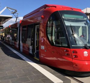 Newcastle, Australia's new tram service is now operational