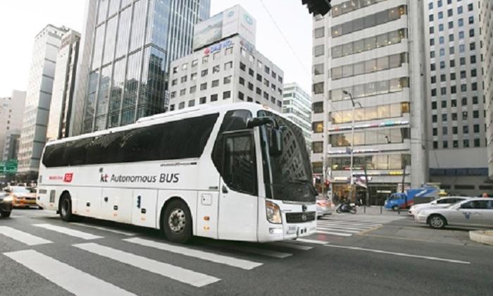 KT's autonomous bus