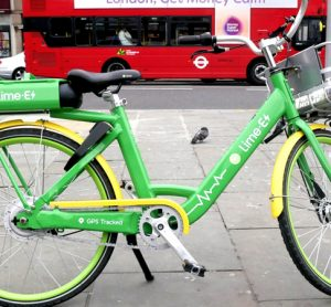 Lime bike London