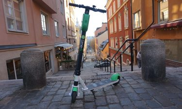 Scooter in  Europe
