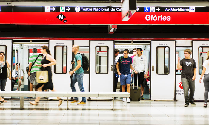 Video surveillance system on Barcelona's metro receives full upgrade