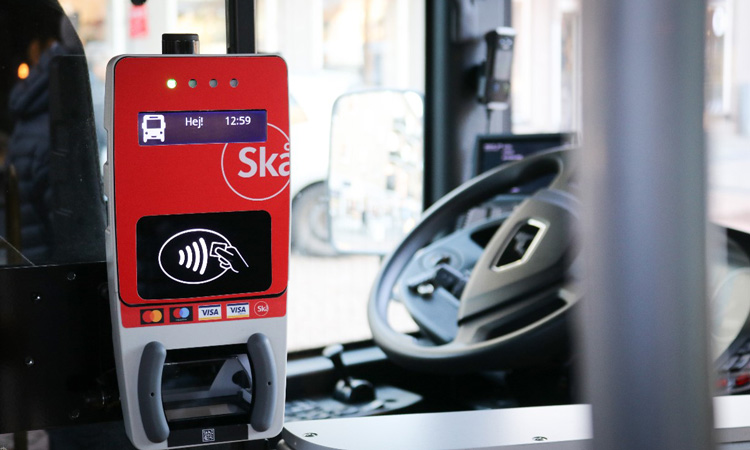 Skåne region first in Nordics to offer public transport contactless payment