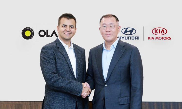 Ola receives $300 million from Hyundai and Kia to develop EV fleet