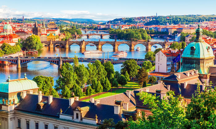 Prague offers travellers the lowest transfer fee in the top 10 at just 79p
