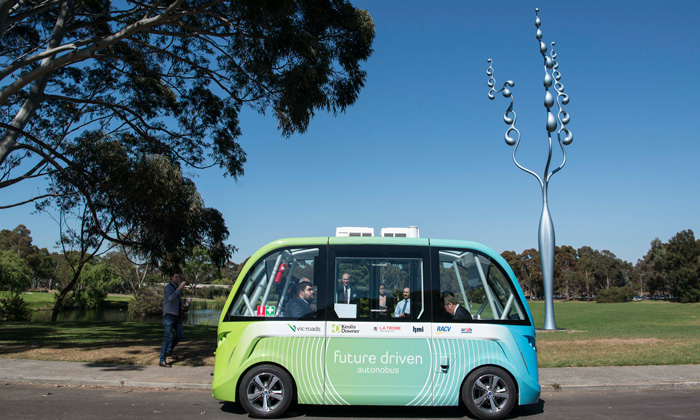 The La Trobe Autonobus trial will help find sustainable solutions for Melbourne's public transport.