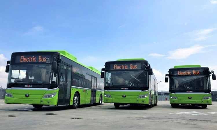 LTA to deploy electric buses in Singapore from early 2020