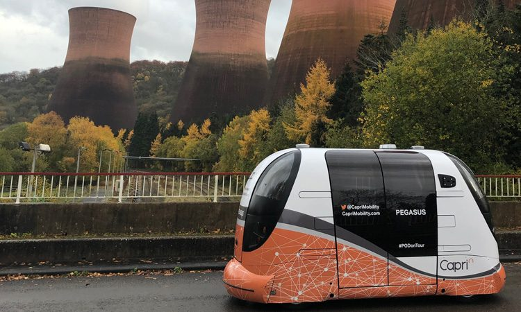 Smart Mobility Living Lab announces route for UK's first self-driving car trial