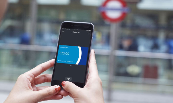 35e565e1aed45 New TfL app enables passengers to top up their Oyster card 'on the go'