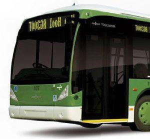 Van Hool trolleybus