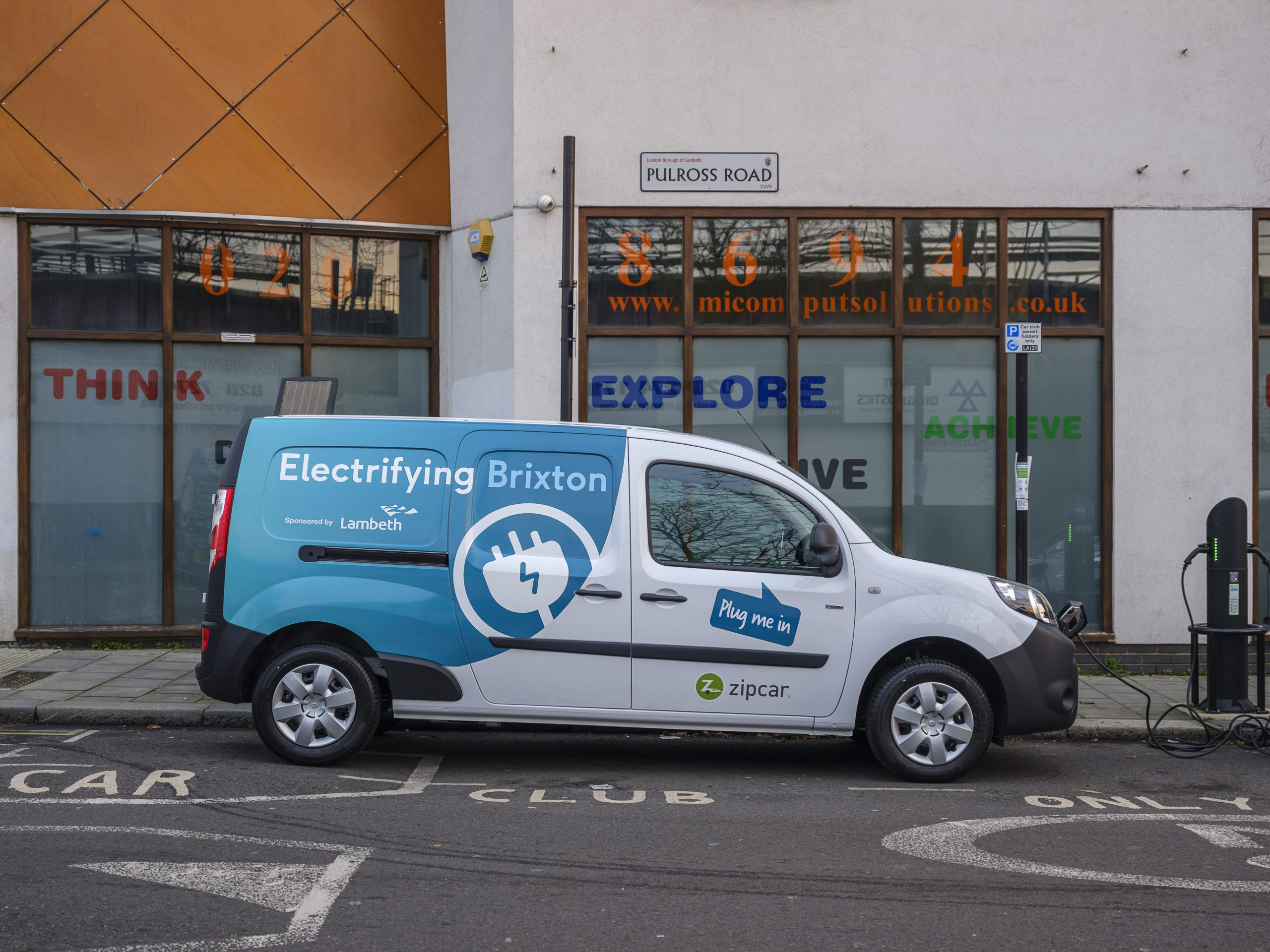 London shared business e-van scheme set to launch in Brixton