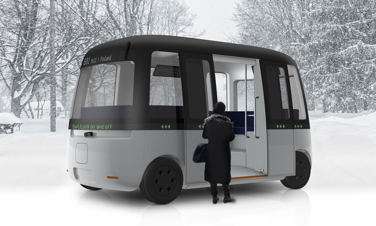 First all-weather autonomous shuttle bus to be deployed by 2020